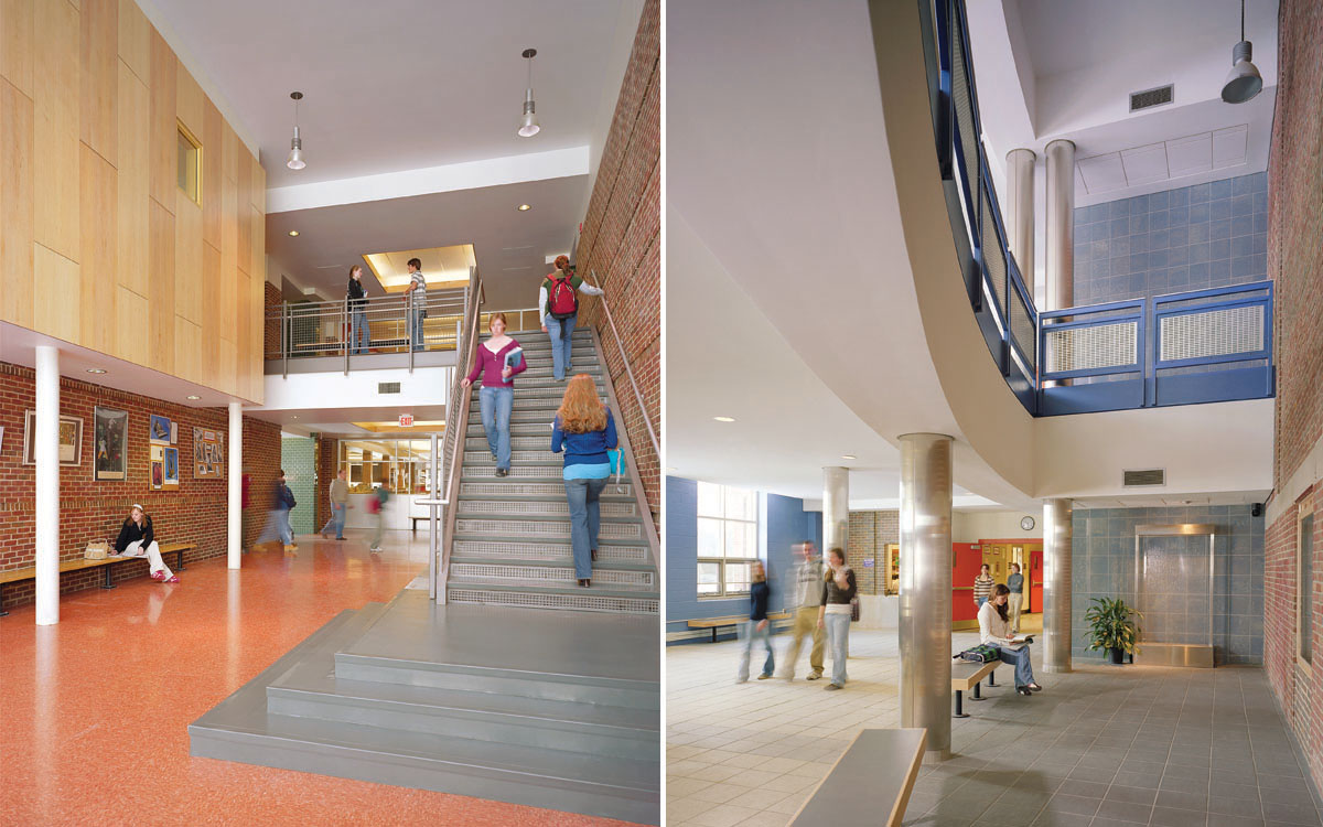 Interiors brattleboro area middle school union high for Interior designs schools