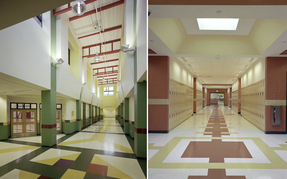 interiors mount anthony union middle school