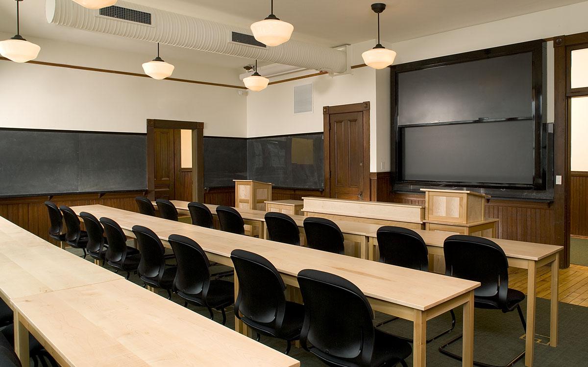 Interiors debevoise hall truexcullins architecture interior design for Certified interior decorators international