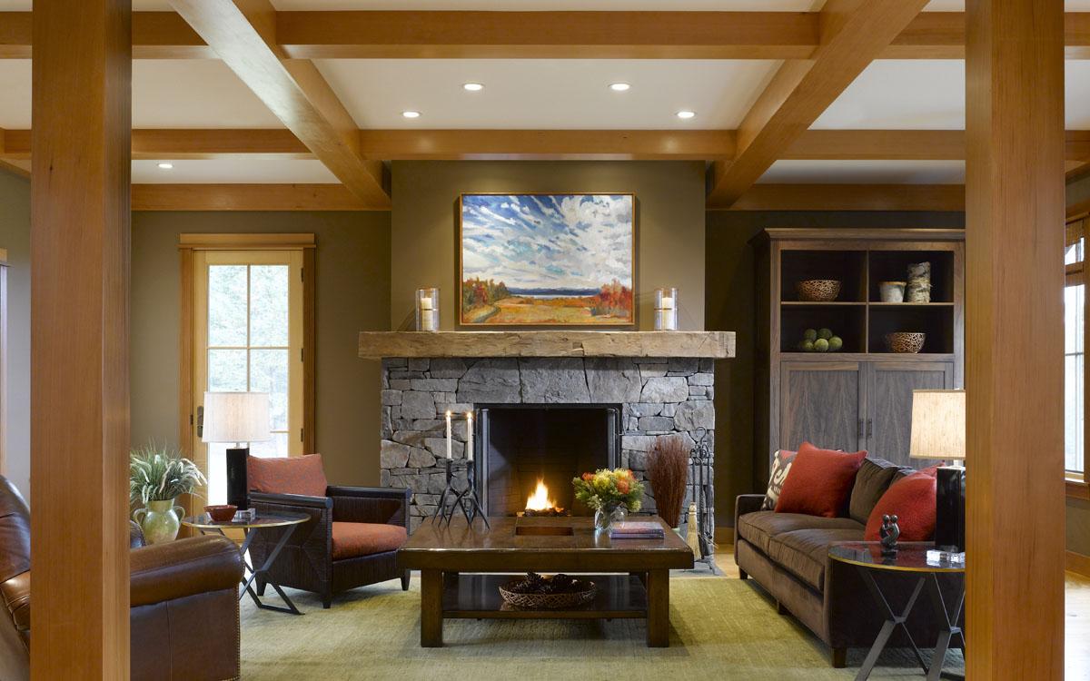 Modern Design Shelburne Vt: Interiors – Vermont Family Home