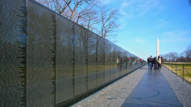 the vietnam veterans memorial Not only did the controversy quickly quiet down, but the vietnam veterans memorial has since become both widely praised and wildly popular.