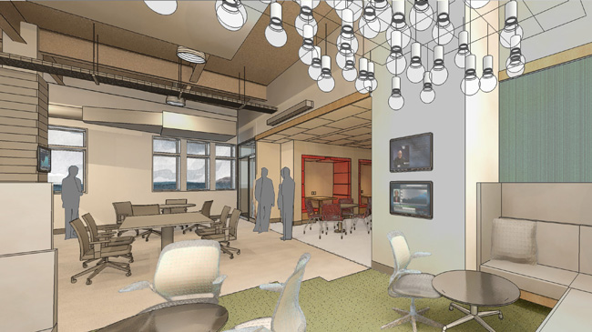 Innovation at work the rise of coworking part 2 Coworking space design ideas