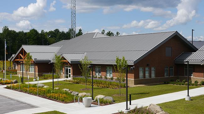 Green building design VT