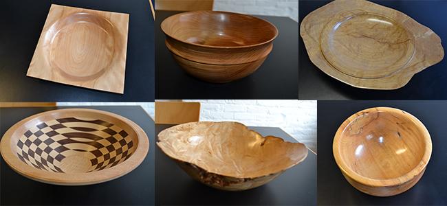 Vermont wooden bowls