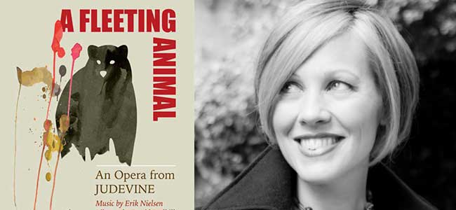 Sarah Cullins in A Fleeting Animal (Poster)