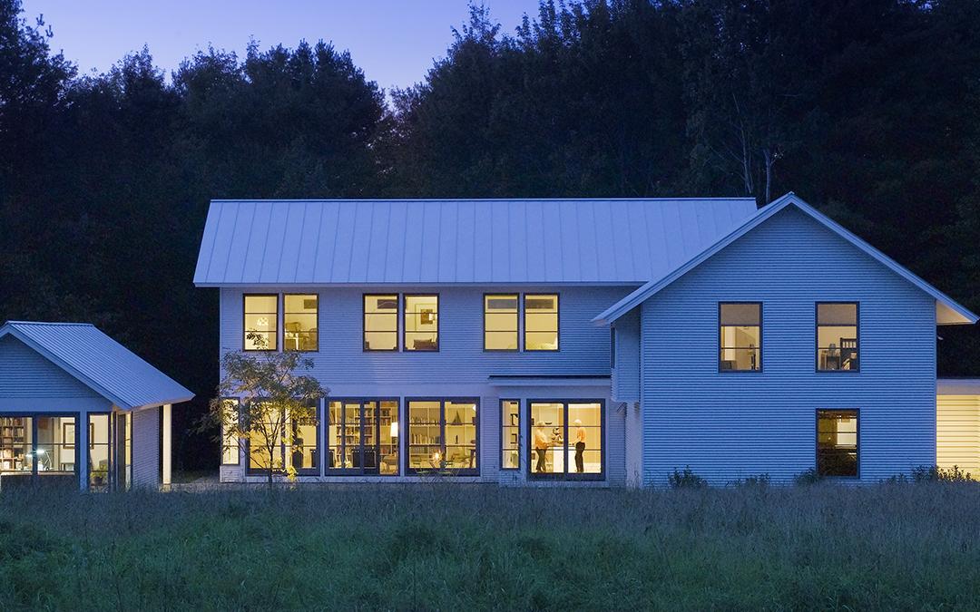 Vermont Custom Farmhouse