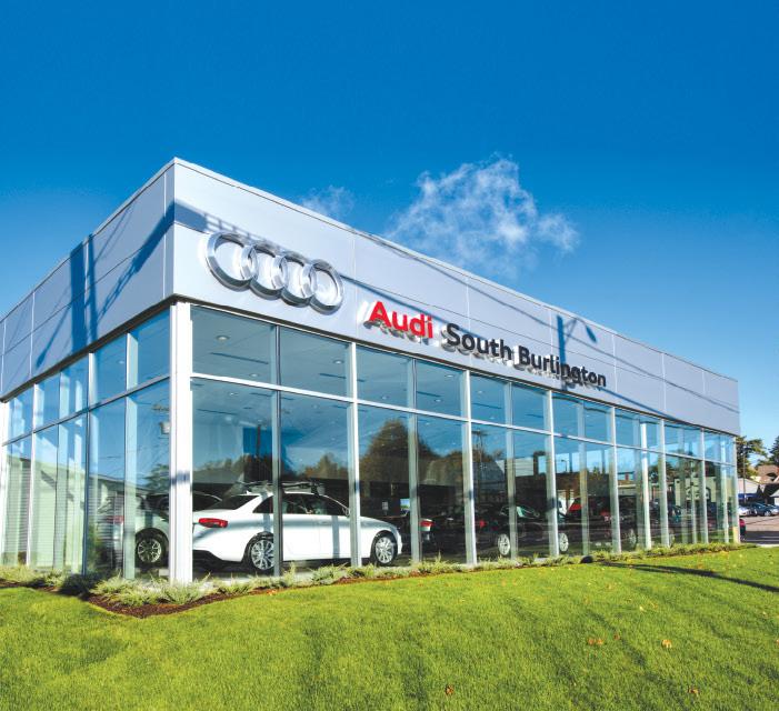 A Machine For Driving TruexCullins Architecture Interior Design - Audi burlington